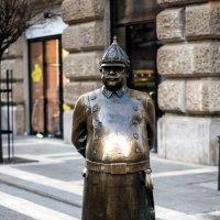 Стойкий бронзовый жандарм (или отражение автора в сияющем животе) :: Александр