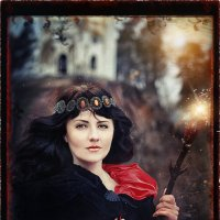 Карты Таро (Королева Посохов) :: Екатерина Щербакова