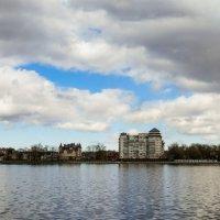 Верхнее озеро.Панорама :: Сергей Карачин