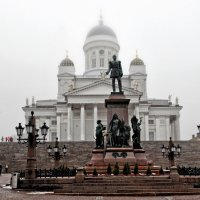 Сенатская площадь, Николаевский собор. :: Надя Кушнир