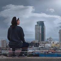 На крыше в Тель-Авиве :: Zilbiris Genadi