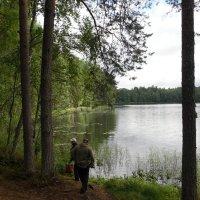 На рыбалке :: Наталья
