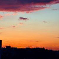 Летний закат. Автор: Мира Озерская. :: Мира Озерская