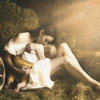 Мама с младенцем :: Анна Гостева