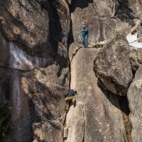 Альпинисты лёгких путей не ищут. :: Валентин Жеребятников