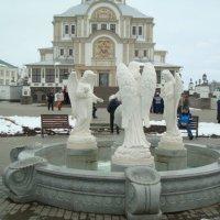 Снежное Дивеево в апреле :: марина ковшова