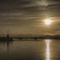 Восходна туманом :: Александр Зенченко