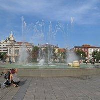 фонтан на пл. Республик :: ИРЭН@ Комарова