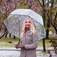 Цветы и снег :: Алена Царева