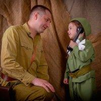Папа с дочкой! :: Артём Зайцев
