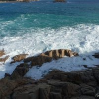 Волна..Нежно-бесстрастная,нежно-холодная,вечно подвластная,вечно свободная. :: Galina Leskova