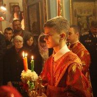 в церкви в ночь на пасху :: Dmitriy Predybailo