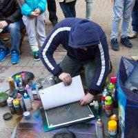 paint (или spray paint art) –рисунки спреем, которые наносятся на картон ... :: Оксана Пучкова