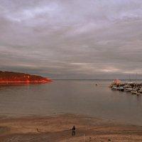 закат солнца в бухте Тадуссак :: Alex