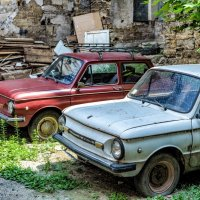 Утро одесского дворика. :: Вахтанг Хантадзе