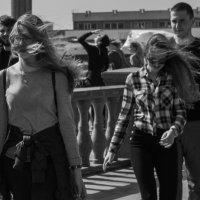 Владивосток. Апрель. Ветер :: Sofia Rakitskaia