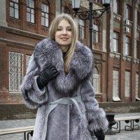 Реклама меховой одежды :: Владимир Белозеров