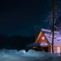 Морозная тёплая ночь :: Даниил Вол