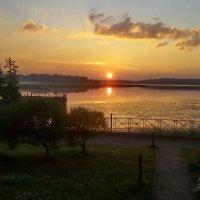 Нежно-розовый рассвет, утро раннее... :: Светлана