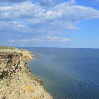 Северный берег моря. :: Виктор ЖИГУЛИН.