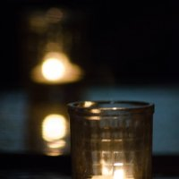 Две свечи :: Олег Брусенцев