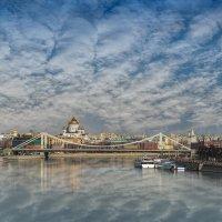 Вид на Крымский мост :: Борис Гольдберг