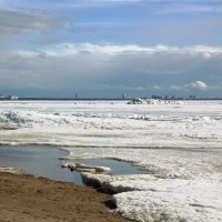 Лёд на заливе :: Aнна Зарубина