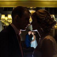 Силуэты жениха и невесты :: iviphoto Иванова