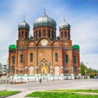 Боголюбский кафедральный собор Мичуринска. :: Александр Селезнев