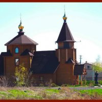 Церковь построенная без единого гвоздя. :: Любовь К.