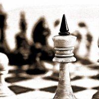 Когда игра заканчивается, король и пешка падают в одну и ту же коробку...... :: Tatiana Markova