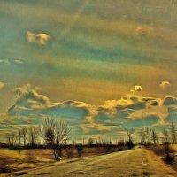 По дороге с облаками..... :: Tatiana Markova