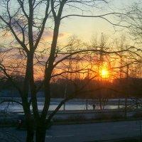 закат в окне :: Miko Baltiyskiy