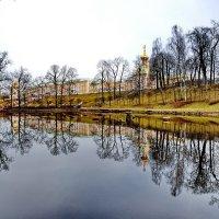Весна в Петродворце :: Василий Богданов