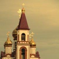 храм в Академгородке Красноярска :: Алексей Полковников