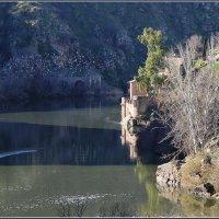 Вид на реку Тахо около Толедо, Испания. :: Николай Панов