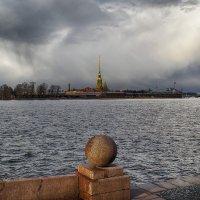 Облака над Петербургом :: Александр Зенченко
