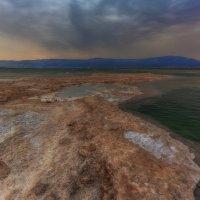 Рассвет на Мертвом море :: сергей cередовой