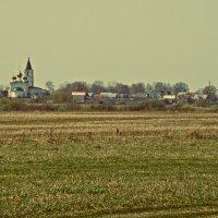 Вид на Церковь Михаила Архангела в Большом Козино (Нижегородская область) :: Андрей Головкин