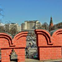Зубцы Троицкого моста :: Анатолий Колосов