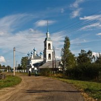 Село Домнино, вотчина матери первого царя из рода Романовых. Костромская область :: MILAV V