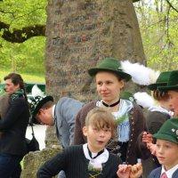 Первомайский праздник в Вессобрунн (нем. Wessobrunn) — коммуна в Германии, в земле Бавариu... :: Galina Dzubina