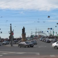 Суворовская площадь. Троицкий мост :: Маера Урусова
