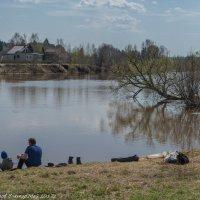На рыбалке с сыном. :: Виктор Евстратов