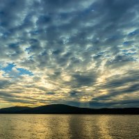 Плывут облака над Амуром. :: Виктор Иванович