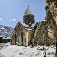 Монастырь Гегард. :: Анатолий Щербак
