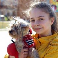 Дама с собачкой... :: Марат Шарипов
