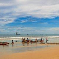 Рыбацкое утро...Мадагаскар! :: Александр Вивчарик