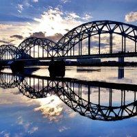 Рига Железнодорожный мост :: Swetlana V