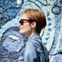 Le bleu est une couleur chaude :: Юлия Красноперова